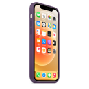 APPLE iPhone 12 | 12 Pro Silikon Case mit MagSafe - Amethyst