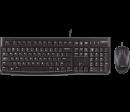 Logitech Tastatur MK120 kabelgebunden + Maus