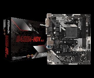 ASRock B450M-HDV R4.0 - Sockel AM4