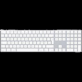 Apple Magic Keyboard mit Ziffernblock - Silber (deutsch)